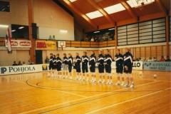 Teamfoto-dames-1990-Ned-Finland-kwalifikatie-voor-de-B-WK-1990-in-Finland