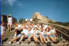 Teamfoto-dames-1990-Volleybal-dames-Nederland-WK-China