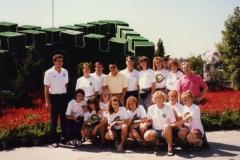 Teamfoto-dames-1990-miniatuur-Great-Wall-Peking