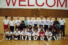 Teamfoto-dames-1990-voorbereiding-voor-WK-in-Japan-1990