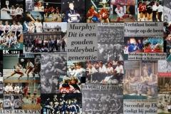 Teamfoto-dames-1991-Foto-Impressie-Europees-Volleybal-Kampioenschap-Dames-1991-Italië.-ZILVER.