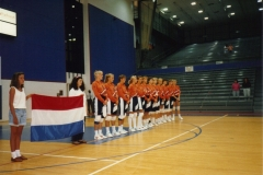 Teamfoto-dames-1991-Ned-Usa-zomer-1991-Georgia-USA