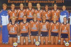 Co-za-28-Europees-Kampioenschap-Dames-2001-Bulgarije-Sofia-Varna