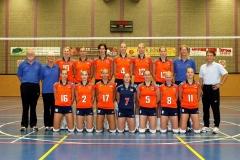 Teamfoto-dames-2004-Nederlands-Volleybalteam