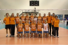 Teamfoto-dames-2012-European-League-Griekenland-zomer-2012
