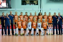 Teamfoto-dames-Volleybal-Team-in-2014