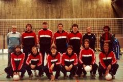 Teamfoto-Heren-1985-Nederlands-Heren-Volleybalteam-1985