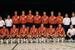 Teamfoto-Heren-1993-Nederlands-Volleybal-Team