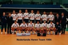 Teamfoto-Heren-Volleybal-Selectie-1994