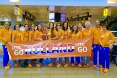 Teamfoto-dames-2016-zitvolleybal
