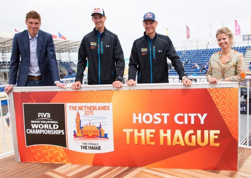 FIVB Transavia Grand Slam, Press Conference