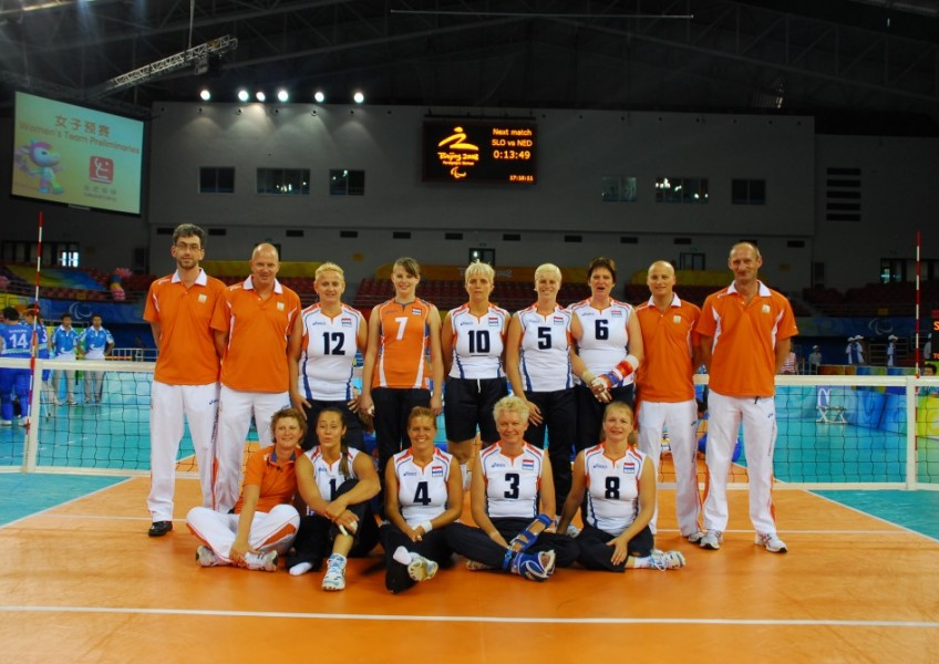 2008 Dames paralympic 2008