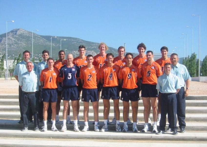 2004 Heren team OS