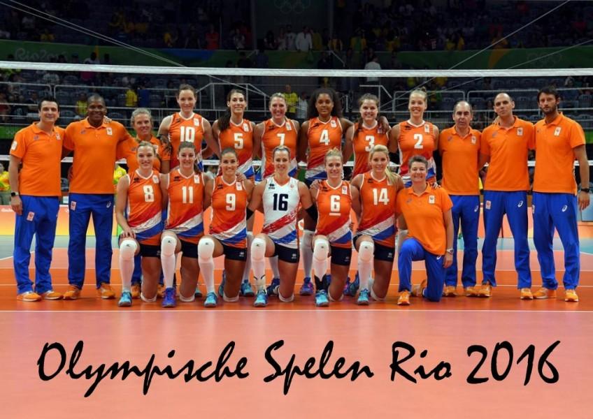 Teamfoto Rio 2016 Dames