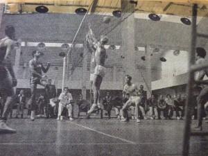 Voeten aan het veld WK Parijs 1956 Cuba-Ned