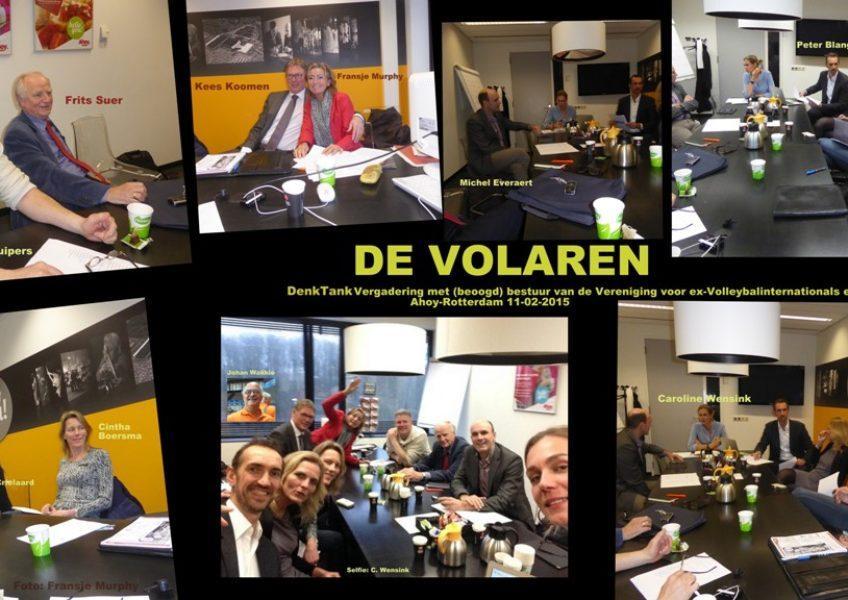 Aanvangsfase oprichting Volaren februari 2015