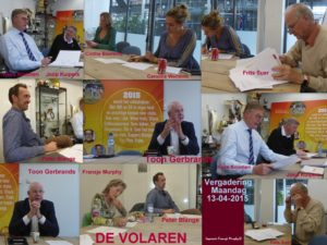 Volaren Vergadering 13 april 2015