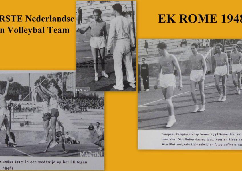 Rome Europees Kampioenschap 1948.