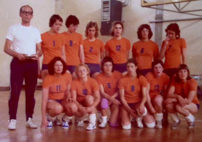 Teamfoto Dames 1975. Springcup Istanbul