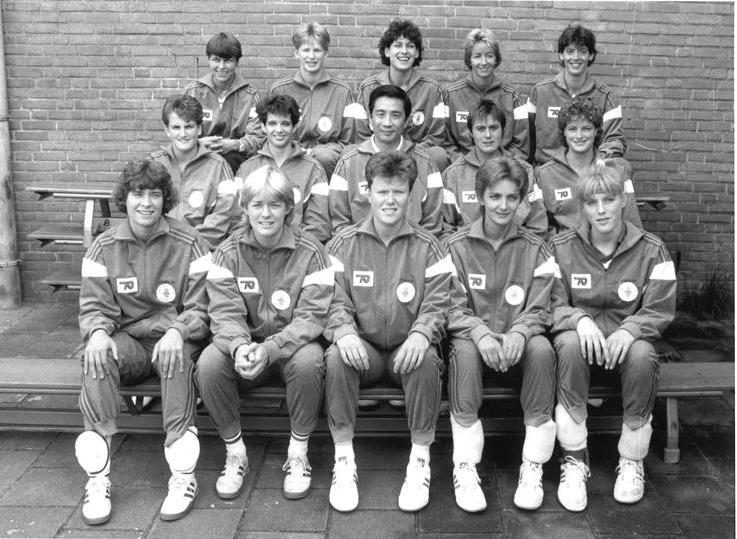 Teamfoto Volleybal Dames 1987