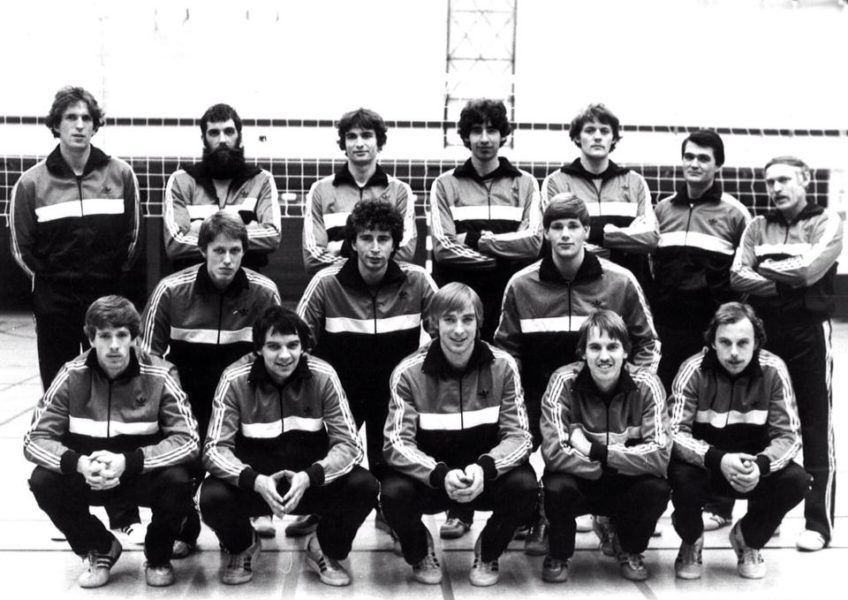Teamfoto heren 1983