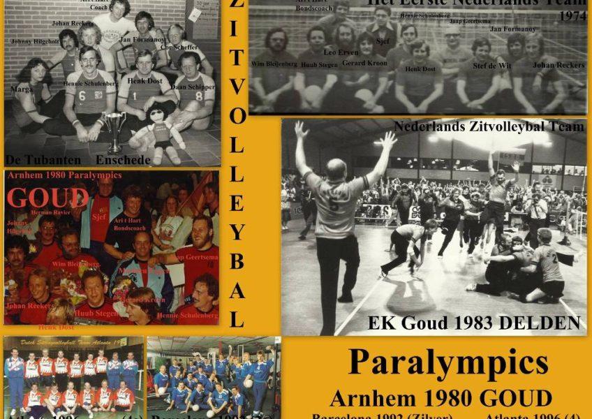 ZITVOLLEYBAL het eerste ned zitvolleybal team 1974