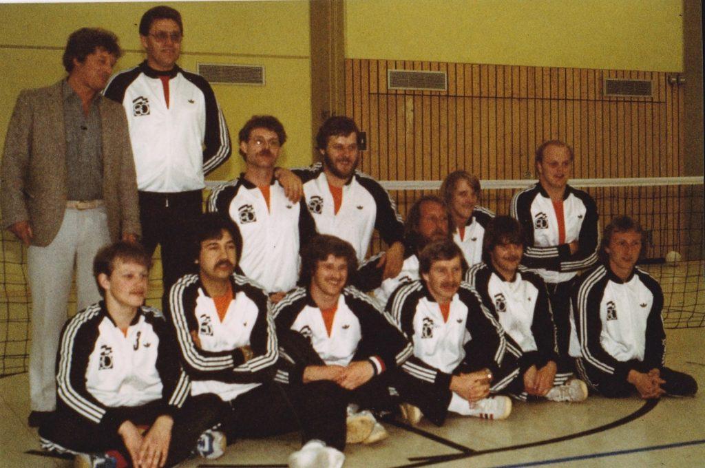 Heren zitvolleybal 1981