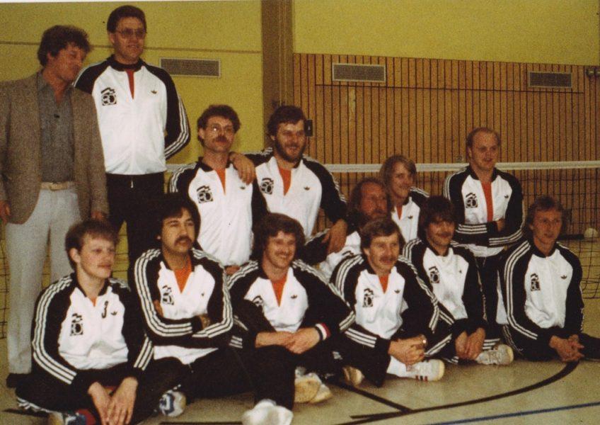 Zitvolleybal WK 1981