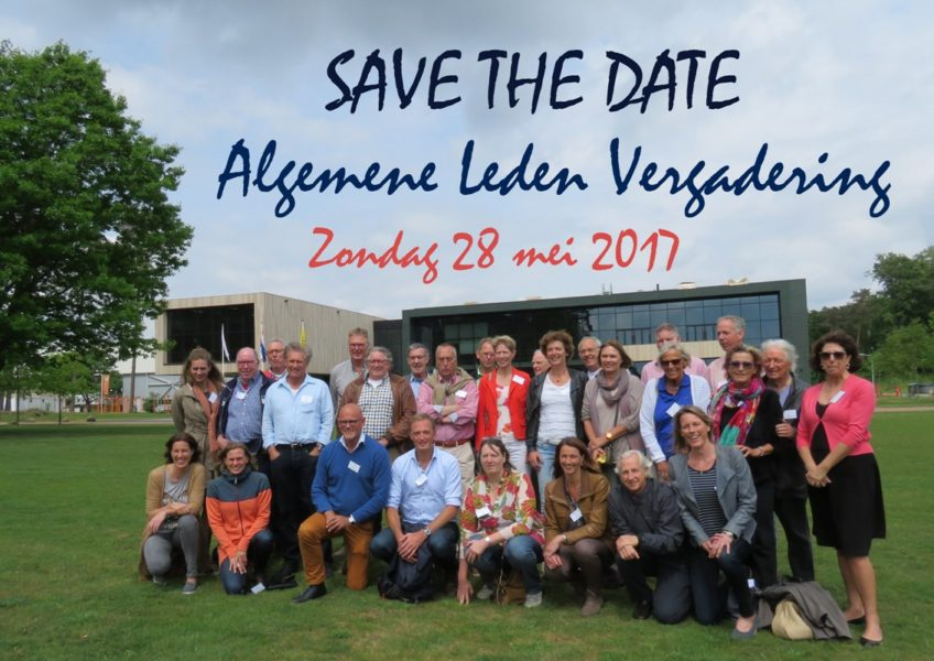 Save the date 28 mei 2017