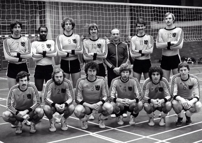 Teamfoto Heren 1974 Nederlands Heren Team 1974.