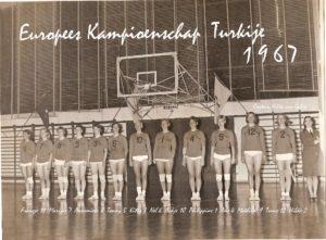 EK 1967 Turkije met namen en EK