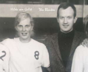 Hilda 8 met echtgenoot Theo Blanken coach