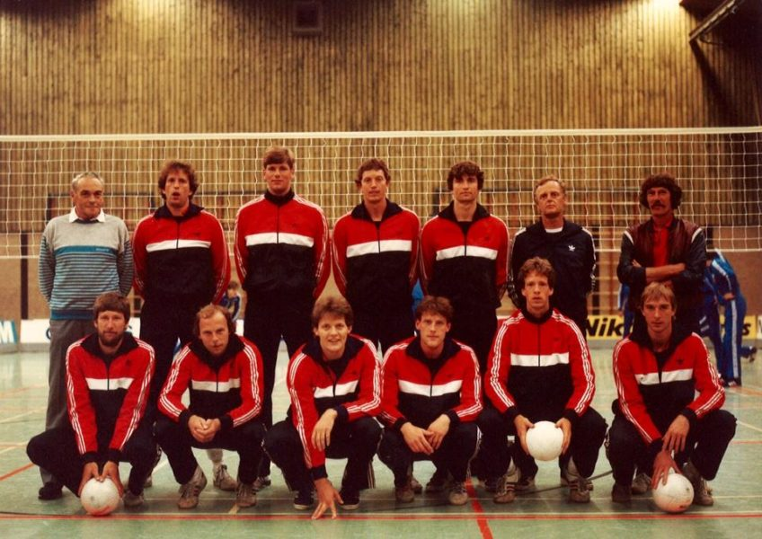 Nederlands Heren Volleybalteam 1985