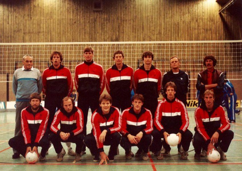 Nederlands Heren Volleybalteam 1985