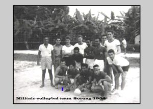 Militair Team Sorong 1954