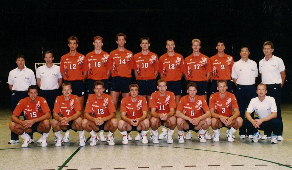Teamfoto Heren 1993 Nederlands Volleybal Team