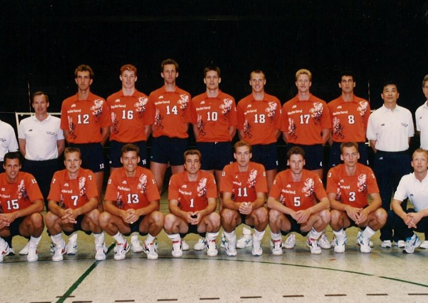 Teamfoto Heren 1993 Nederlands Volleybal Team