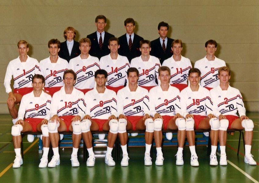 Teamfoto Heren 1989