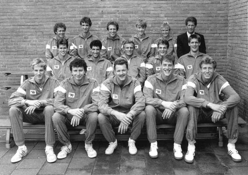 Teamfoto heren 1987