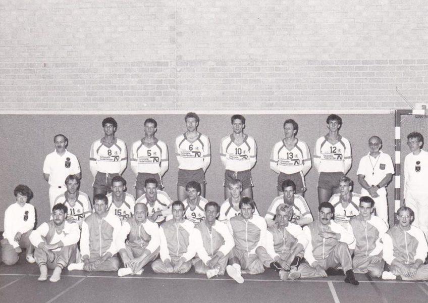 Zaalvolleybal tegen Zitvolleybal 1987 Nationale teams