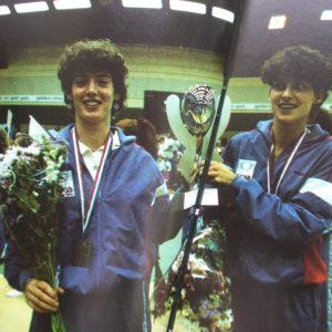 Ingrid Piersma en Agnes 1985