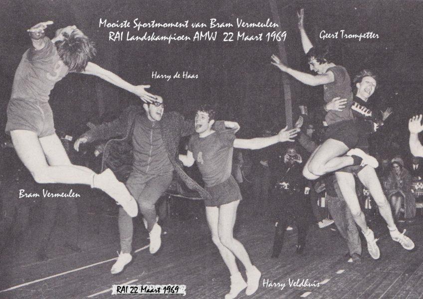 Sportmoment Bram Hoogtepunt 1969 Goede naam erbij. Harry de Haas