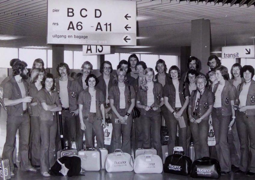 Co 1974 Mexico vertrek