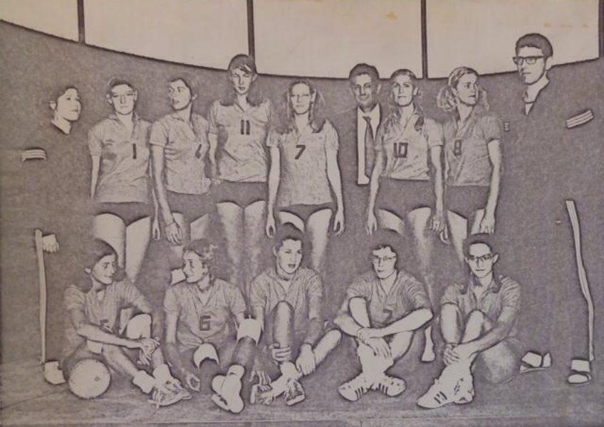 Co L Damesteam Europees Kampioenschap 1971.