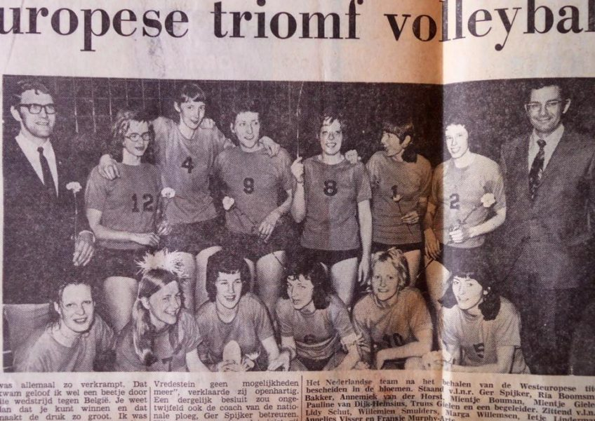 Co N O Nederlands Team in 1973.