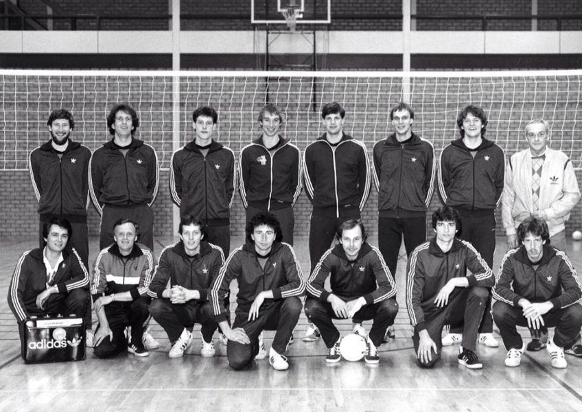 Co tje 8 Nederlands Herenteam 1977