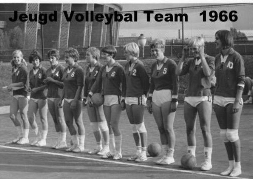 Co za39 Het dames jeugdteam uit 1966