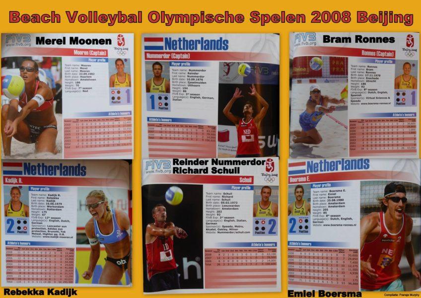 2008 BEACHVOLLEYBAL Olympische spelen 2008 Beijing