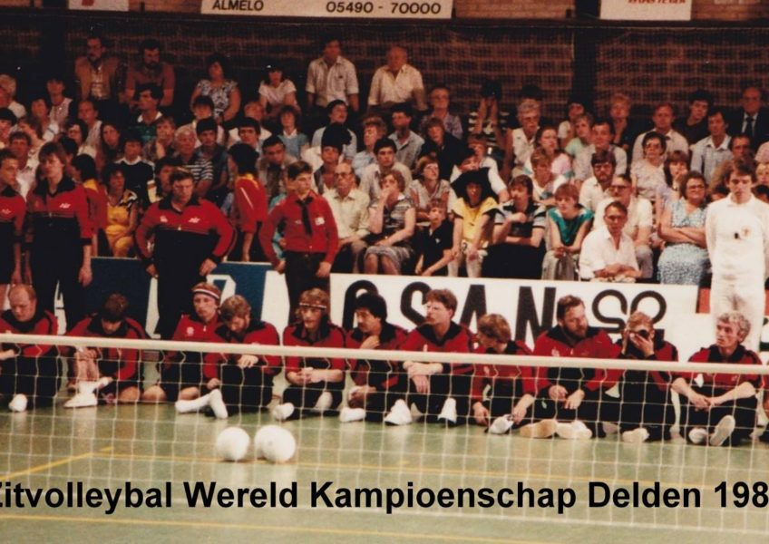 Co za6 Zitvolleybal Heren WK Delden 1983