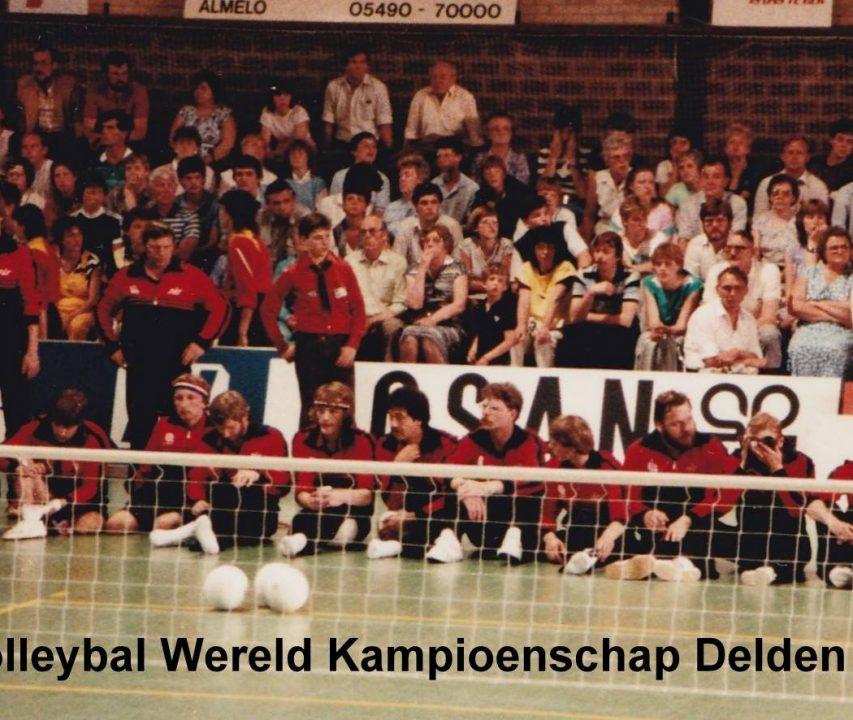 Co za6 Zitvolleybal Heren WK Delden 1983